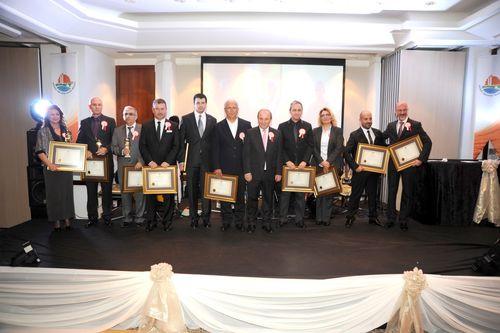 AOSB 2013 Yılı En Başarılı Firmalar Ödül Töreni